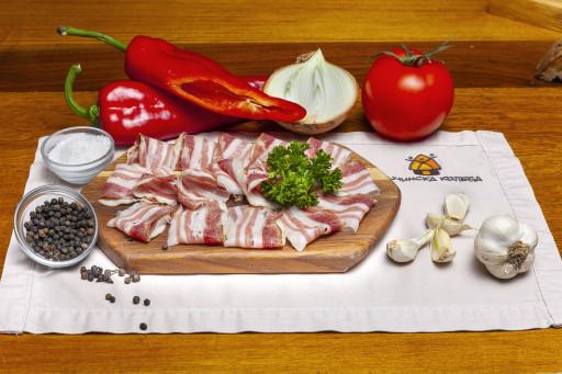 Suva slanina od mangulice
