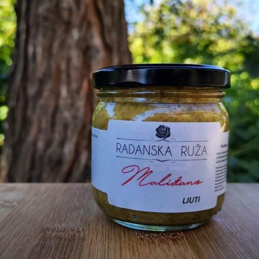Malidjano ( ajvar od zelenih paprika )