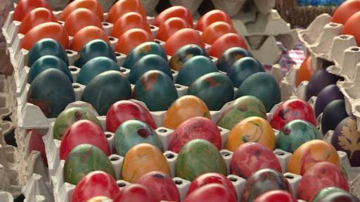 Prodaja farbanih jaja
